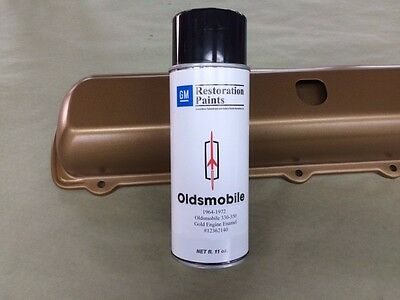 Thornton Gm Gold Engine Paint Oldsmobile Cutlass 442 1969 1970 1971 1972