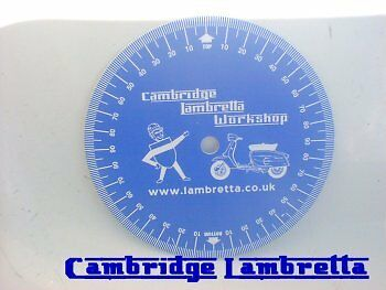 Lambretta Timing Disc - Fits mag housing exactly as featured in the Spanners