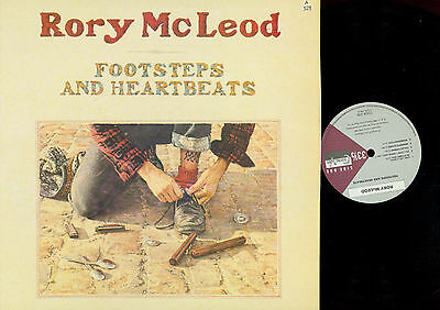 LP-Rory McLeod ‎– Footsteps And Heartbeats