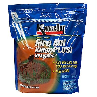 Fire Ant Killer Granules 3.5 Lbs Fast Acting Fire Ant Flea Bug Insect Killer