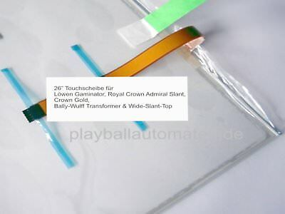 "26"" Touchscheibe Bally-Wulff Transformer, Wide-Slant-Top 16:10 Touchscreen"