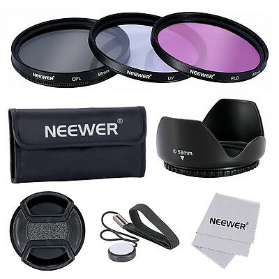 Neewer 58mm Kit de Accesorios Filtro para  Cámara Réflex Digital