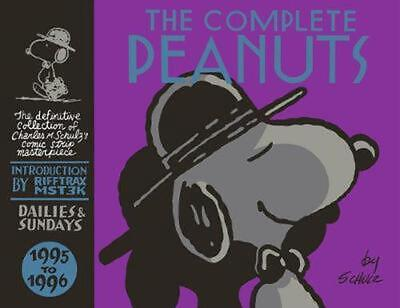 The Complete Peanuts 1995-1996 by Charles M. Schulz (English) Hardcover Book Fre