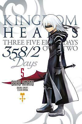 Kingdom Hearts 358/2 Days, Vol. 5 by Shiro Amano (English) Paperback Book Free S