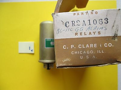 New In Box Clare Sealed Contact Reed Relay Cr2A 1063 Cra21063 (191-2)