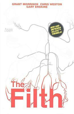 The Filth Deluxe Edition HC by Grant Morrison (English) Hardcover Book