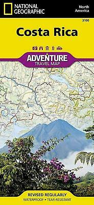 Costa Rica by National Geographic Maps Folded Book (English)