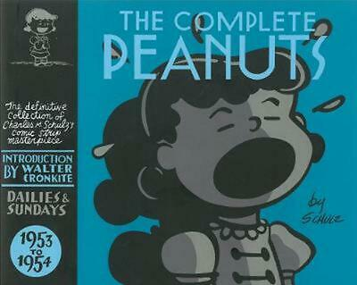 The Complete Peanuts 1953-1954: 1953-54 CL by Charles M. Schulz (English) Hardco