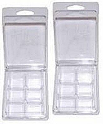 100 High Quality Plastic Clamshell Molds - Wholesale Lot