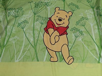 DISNEY Vintage Winnie the Pooh Tigger Twin Duvet Cover
