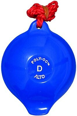 Langley 4 hole plastic OCARINA in BLUE great for Children/School. From Hobgoblin