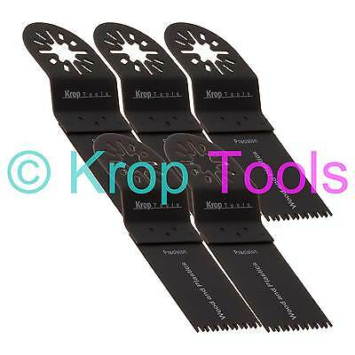 5 Oscillating Multi Tool Saw Blades Apollo Skil Workzone 35mm Precision by KROP