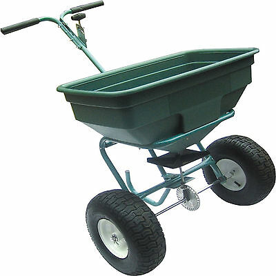 Handy Ths125 125Lbs Seed / Fertiliser Push Spreader