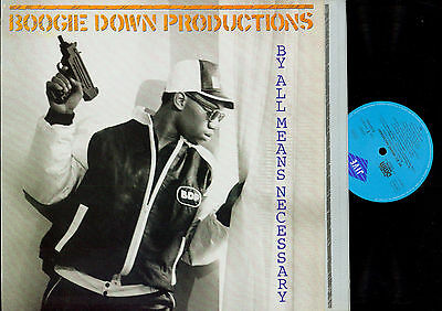 LP-- Boogie Down Productions – By All Means Necessary