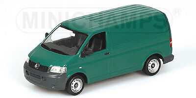 Minichamps 1:43 VW T5 Transporter 2003 - green