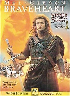 Mel Gibson Braveheart New DVD Winner 5 Academy Awards Widescreen Collection