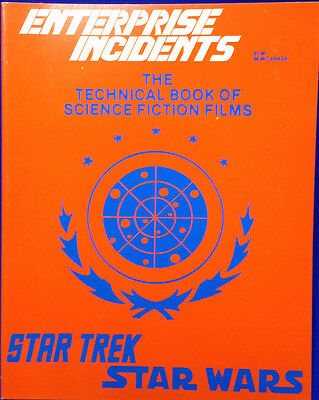 1984 Enterprise Incidents Technical Book of Science Fiction Films-Reference Book