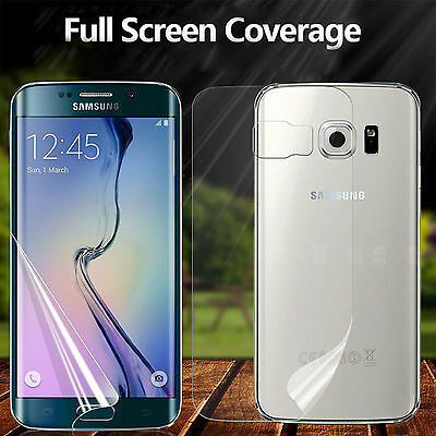 New Full 3D Curved Screen Protector PET Film Cover For Samsung Galaxy S8 S7 edge
