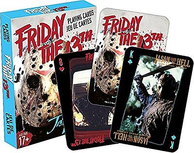 Friday 13th Movie set of  playing cards (nm 52319)