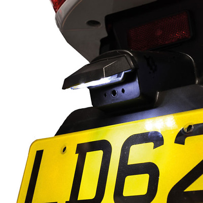 Oxford Motorcycle Number Plate Light - LED Halomaxi (OX112)