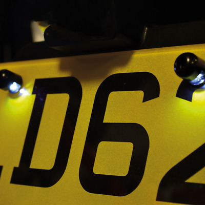 Oxford Motorcycle Number Plate Light - LED Halobolts (OX111)