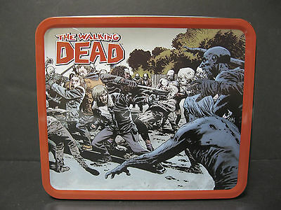 The Walking Dead Tin Lunch Box New And Mint