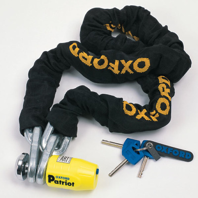 Oxford Motorcycle Security - Patriot Chain Lock - 1.5m (OF796)