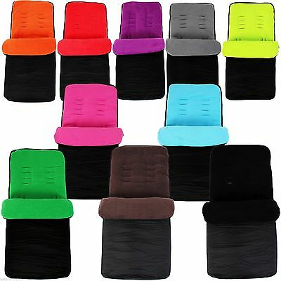 Universal Footmuff Cosy Toes Fit Buggy Pushchair Cheap Stroller Pram Baby