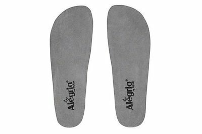 Alegria Shoes Classic Replacment Footbed Insole ALG-999G Grey Medium / Wide