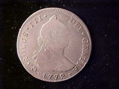 Guatemala George Iii 4 Reales 1772P First Year Of Issue