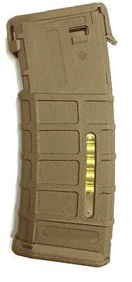 Caricatore Monofilare Abs M4 Pmag Style Mid Cap 120Bb Tan Bd4202