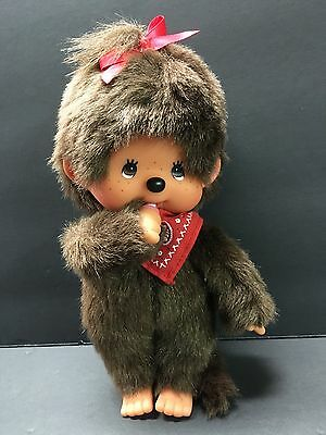 Vintage Monchichi Monchhichi-Boy Monkey- Sekiguchi-stuffed plush toy-1980's