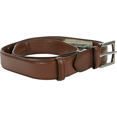 Travelon Leather Money Belt (One Size Fits All) 2 Colors Travel Wallet NEW