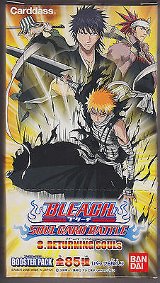 Bleach Card Game Soul Card Battle Booster Part 8 Sealed Box Japanese