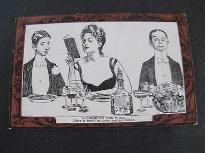 Charles Dana Gibson Girl Pictorial Comedy Postcard
