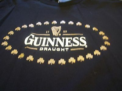 Guinness Draft T Shirt Adult Large