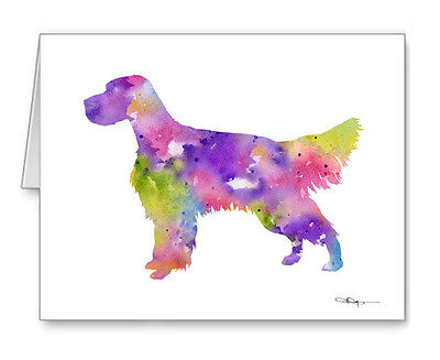 ENGLISH SETTER Note Cards With Envelopes