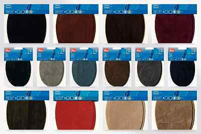 Prym Iron On Imitation Suede Elbow & Knee Patches - per pack of 2 (929330-M)