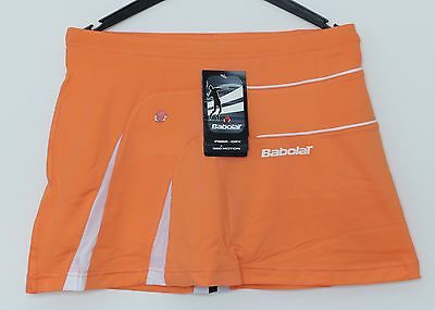 SALE: Babolat Performance Damen Skort orange, Top Angebot, Tennisrock