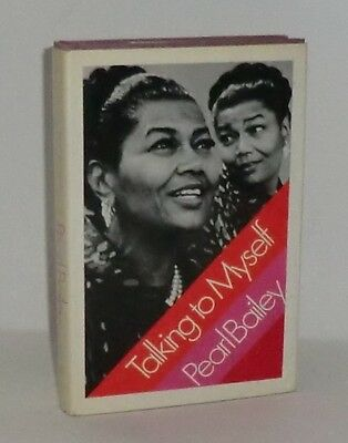 1971 'Talking To Myself' By Pearl Bailey *Signed By Author*
