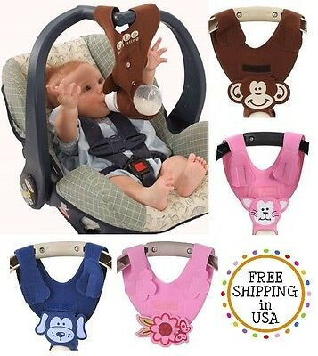 New BEBE BOTTLE SLING Hands Free Baby Feeding Holder