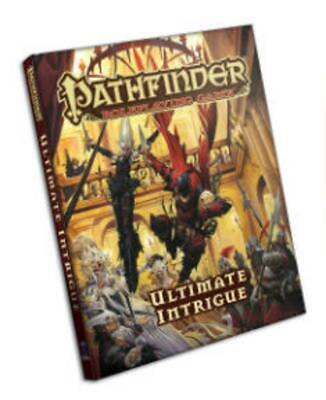 Pathfinder Roleplaying Game: Ultimate Intrigue by Jason Bulmahn (English) Hardco