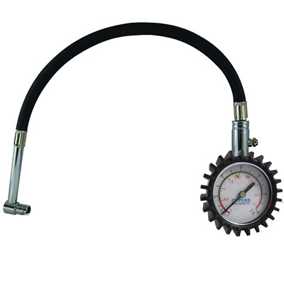 New - Oxford Motorcycle Tyre Gauge - Pro 0-60psi (OF313)