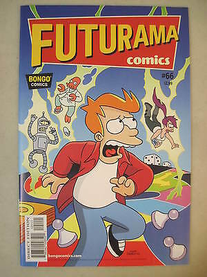 Futurama Comics #66 Bongo Comics Group Fry Leela Bender & Zoidberg Cover