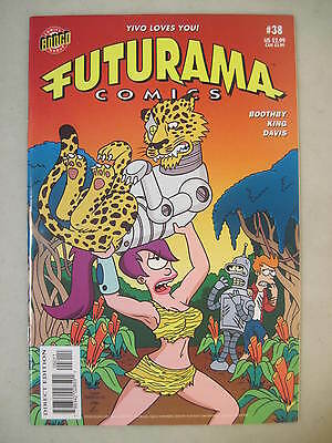 Futurama Comics #38 Bongo Comics Group Lela Fry Bender Cover
