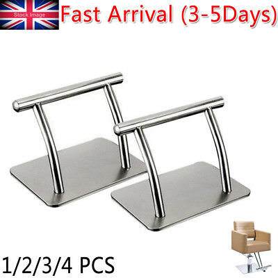 Stainless Steel Footrest Barbers Hair Chair Salon Equipmen Tattoo Hairdressing