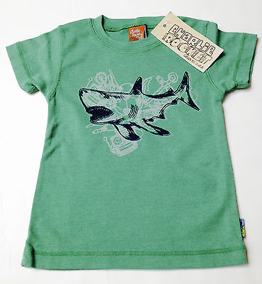 New Charlie Rocket Boys Top Size 12-18 months~Boutique Brand Made in USA~Sharks
