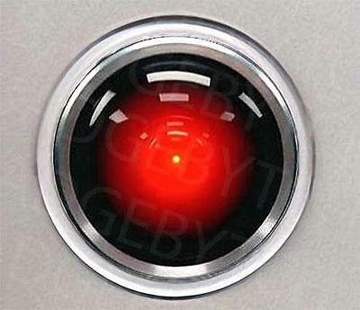HAL 9000 round drinks COASTER - 2001 A SPACE ODYSSEY CLASSIC!