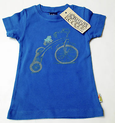 New Charlie Rocket Boys Top Size 9-12months~Boutique Brand Made in USA~Cotton