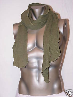 "Canadian Forces Combat Scrim/Waffle Scarf ""surplus item"" grade 2 condition USED"